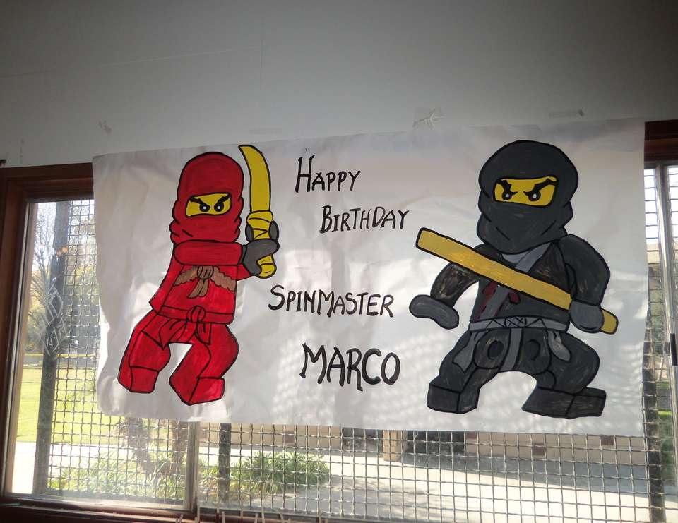 Marco's 9th Birthday - Lego Ninjago