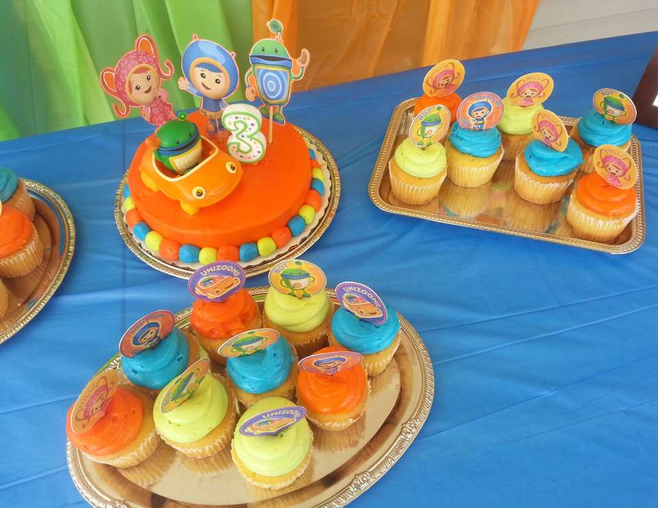 Cohen's 3rd birthday - Team Umizoomi
