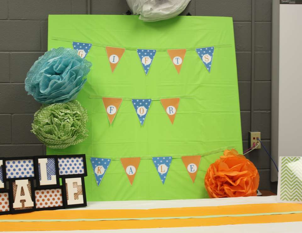 Bright and Cheerful Baby Shower - None
