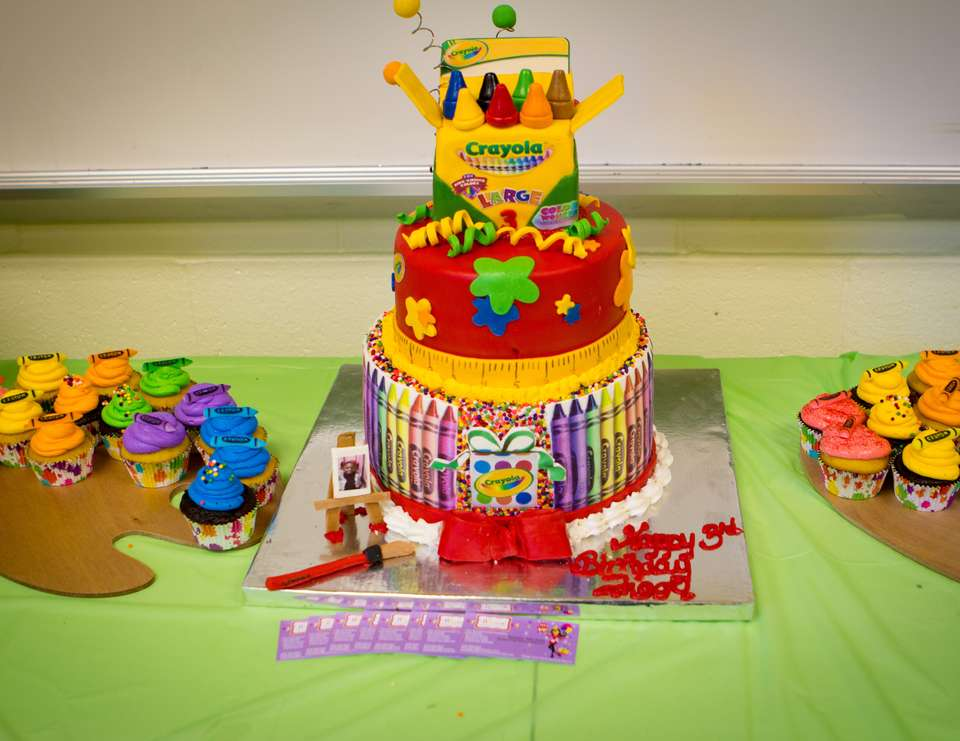 Crayola Birthday Art Party Catch My Party
