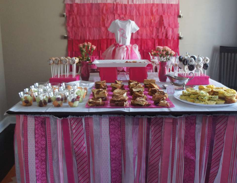 Girly Baby Shower - Girly, Its a Girl, Ruffles, Pink