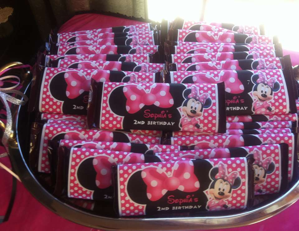 Granddaughter's 2nd Birthday - Mickey Mouse Clubhouse or Minnie Mouse