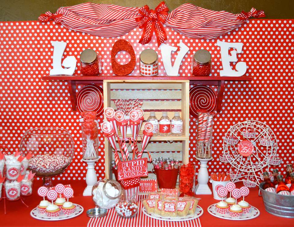 Cupid's Candy Shoppe - Valentine's Day