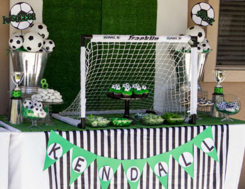 Kendall's Soccer Party - soccer party
