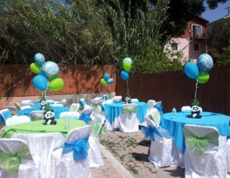 Baby Panda Baby Shower Party Ideas Photo 1 Of 10 Catch My Party