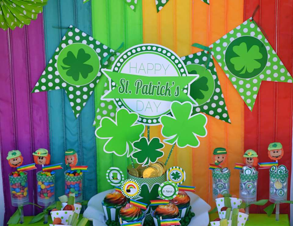 St. Patrick's Day party - Rainbow