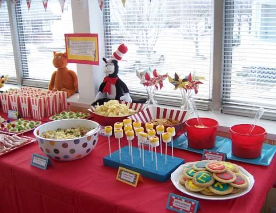 Dr. Seuss First Birthday! - Dr. Seuss