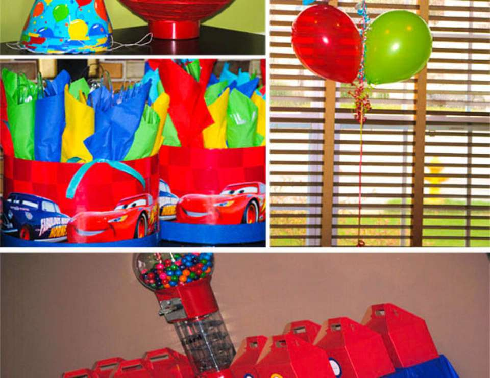 Baby Boy's 1st Birthday - Trains, Planes, and Automobiles