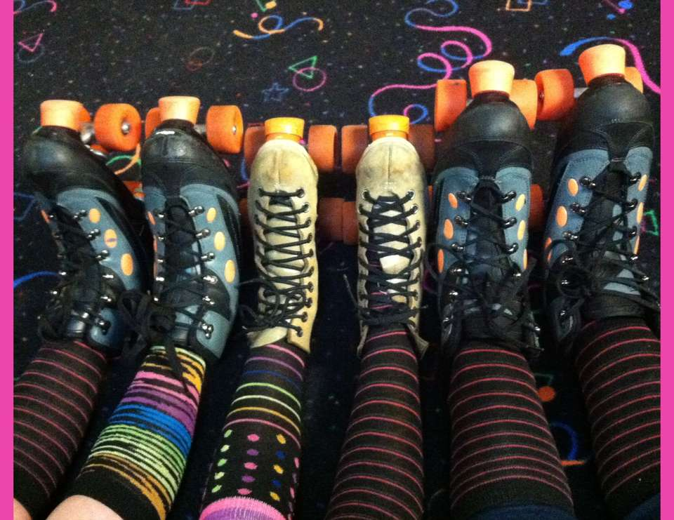 """Let's Roll With Camryn"" 9th Birthday Party - Roller Skate"