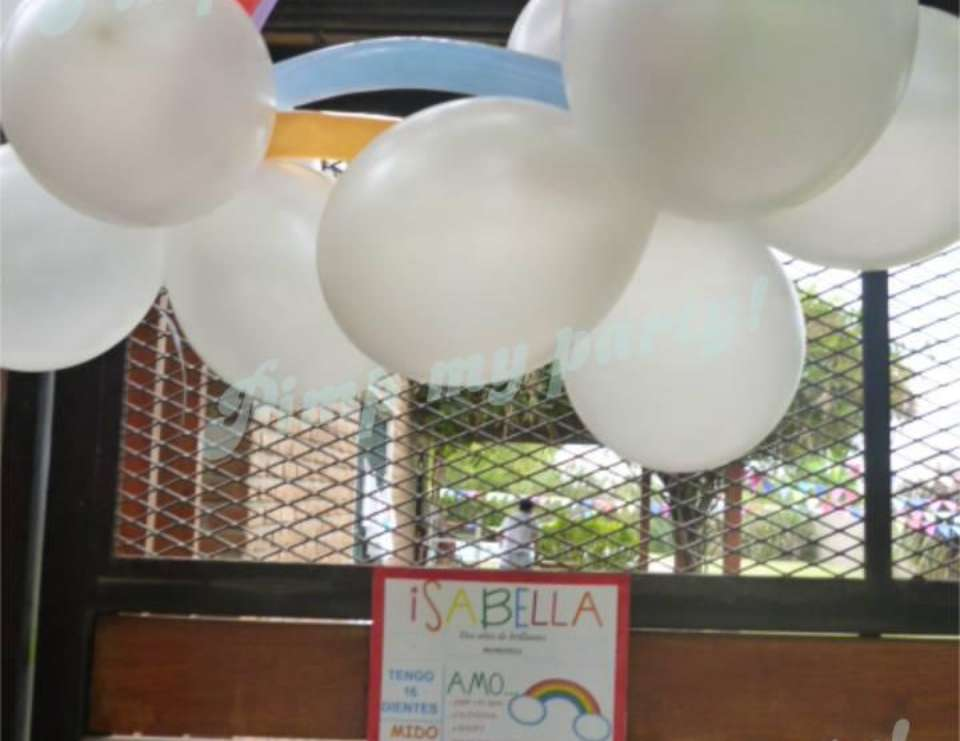 Bella´s rainbow party! - Rainbow