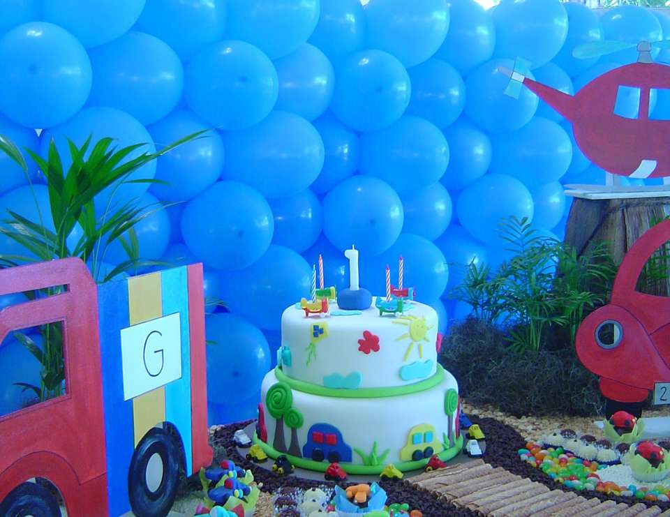Diego's 4th birthday!! - Cars