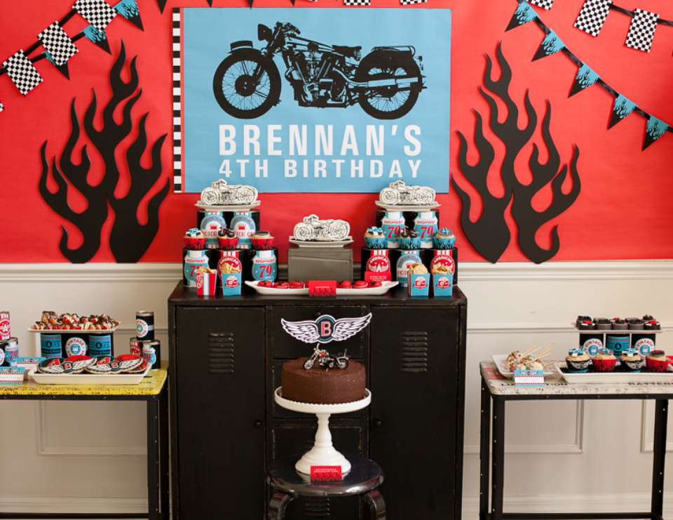 Motorcycle Birthday - None