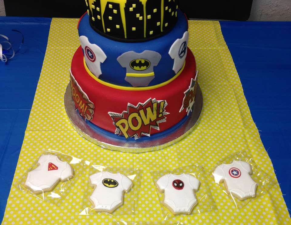 Super Hero baby Shower  - Superhero