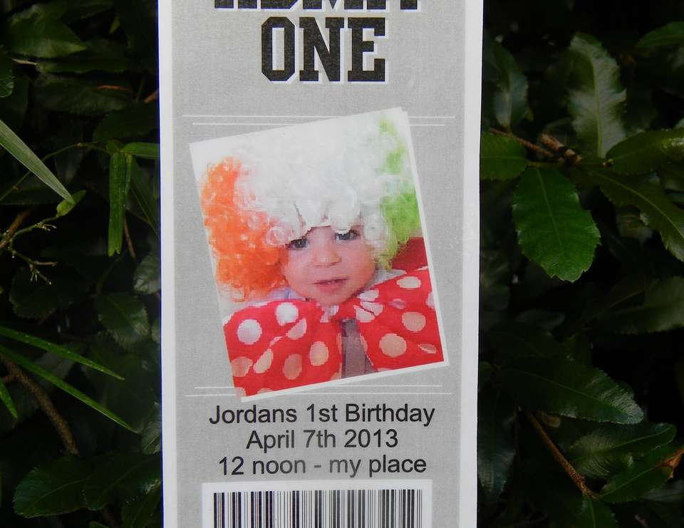 Jordan's 1st Birthday - Circus Theme