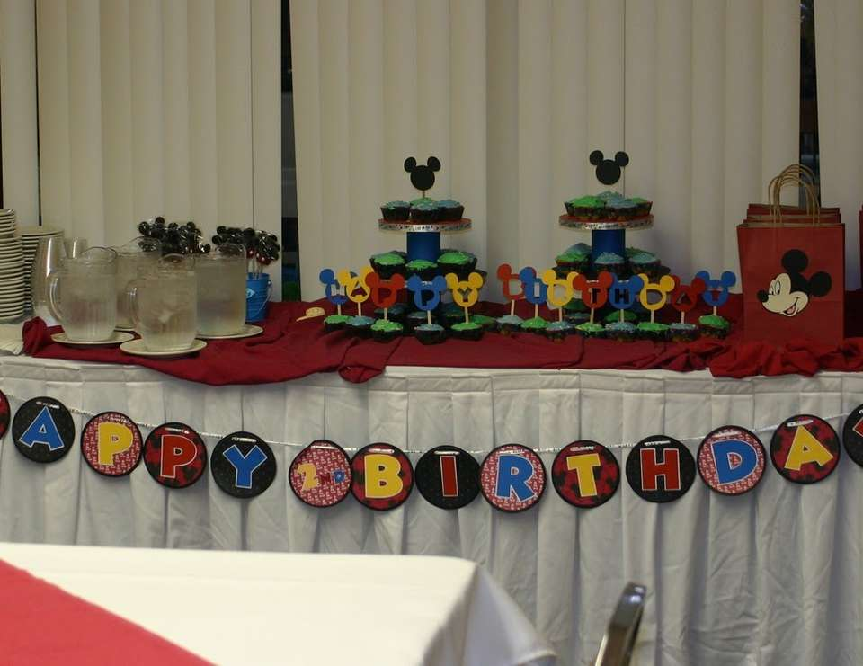 Dane's Mickey Mouse Party - Mickey Mouse