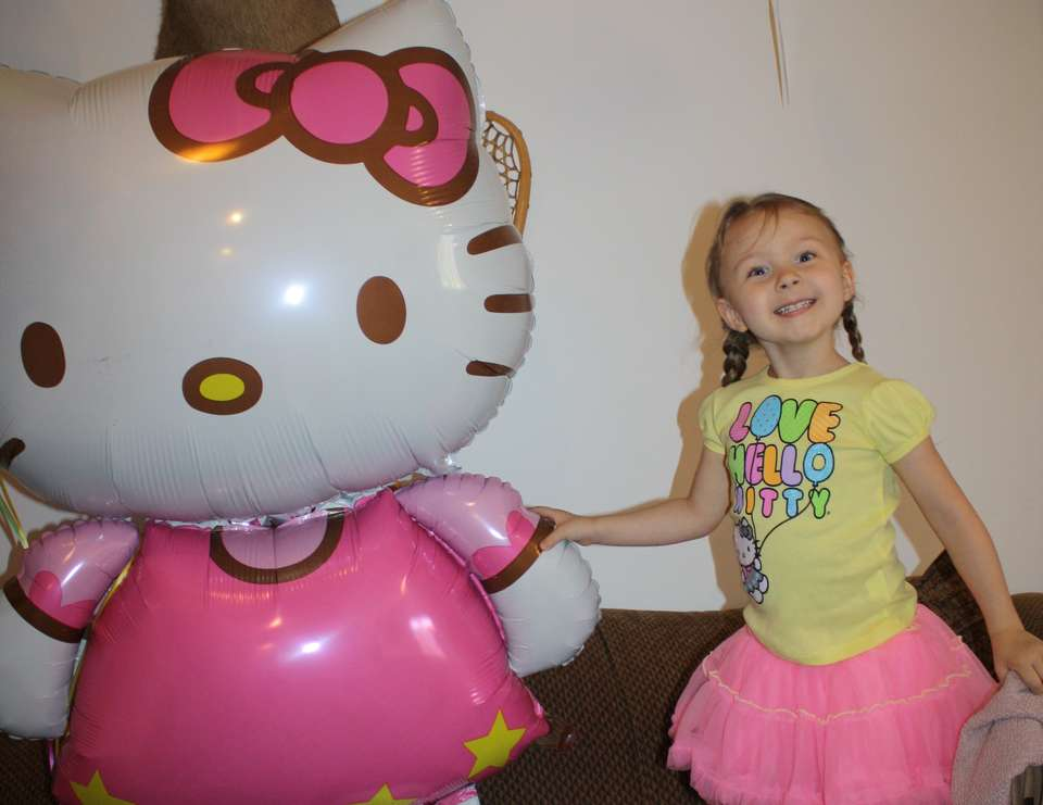 Audreys 4th birthday - Hello Kitty