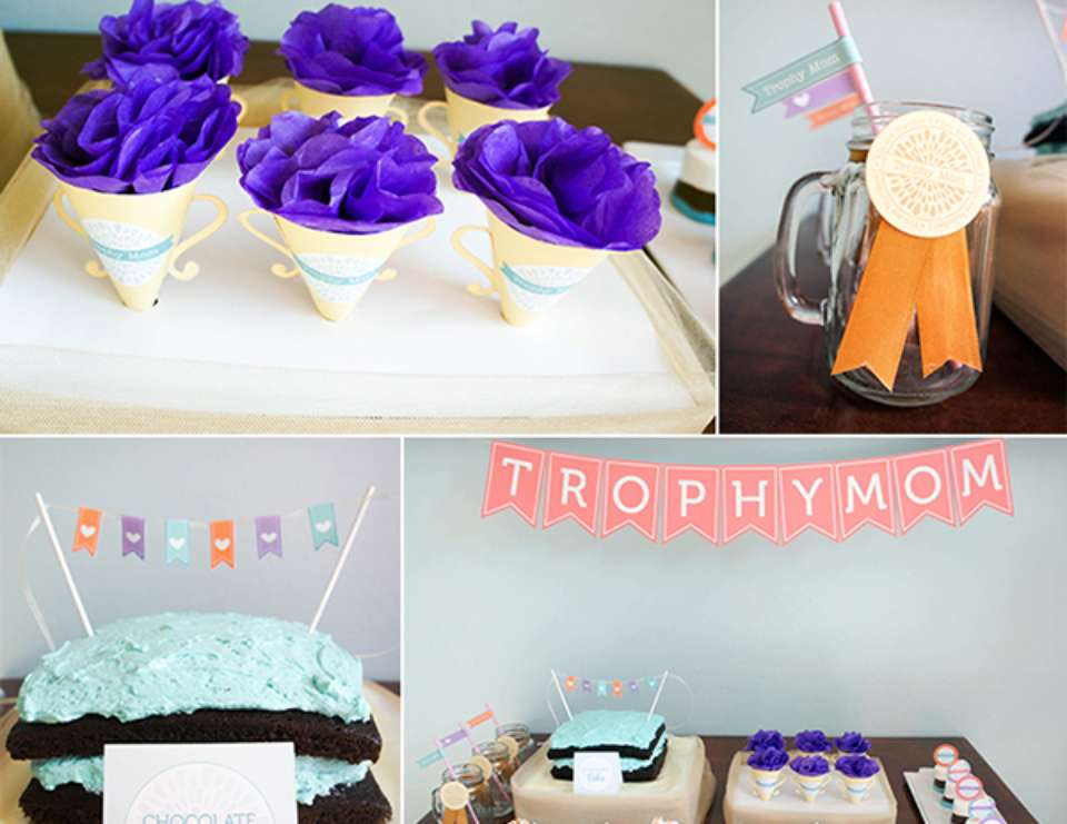 Trophy Mom Party - None