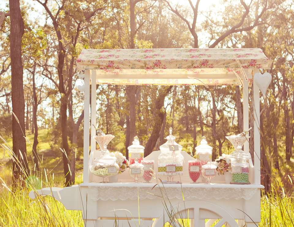 country wedding - vintage floral