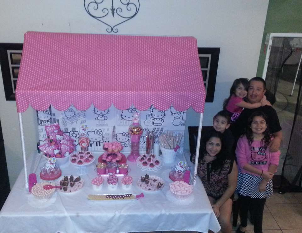 Natalee's 6th Hello Kitty party - Hello Kitty