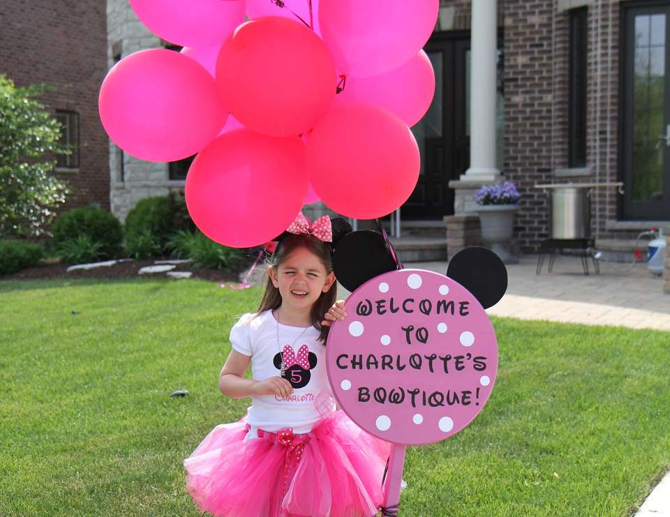 Charlotte's 5th Birthday - Minnie Mouse Extravaganza!! - Minnie Mouse