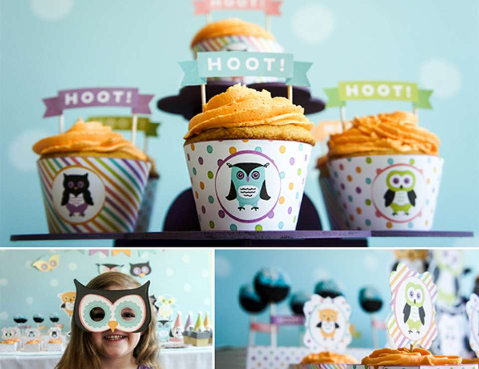 Owl Birthday Party on a Budget - Owls