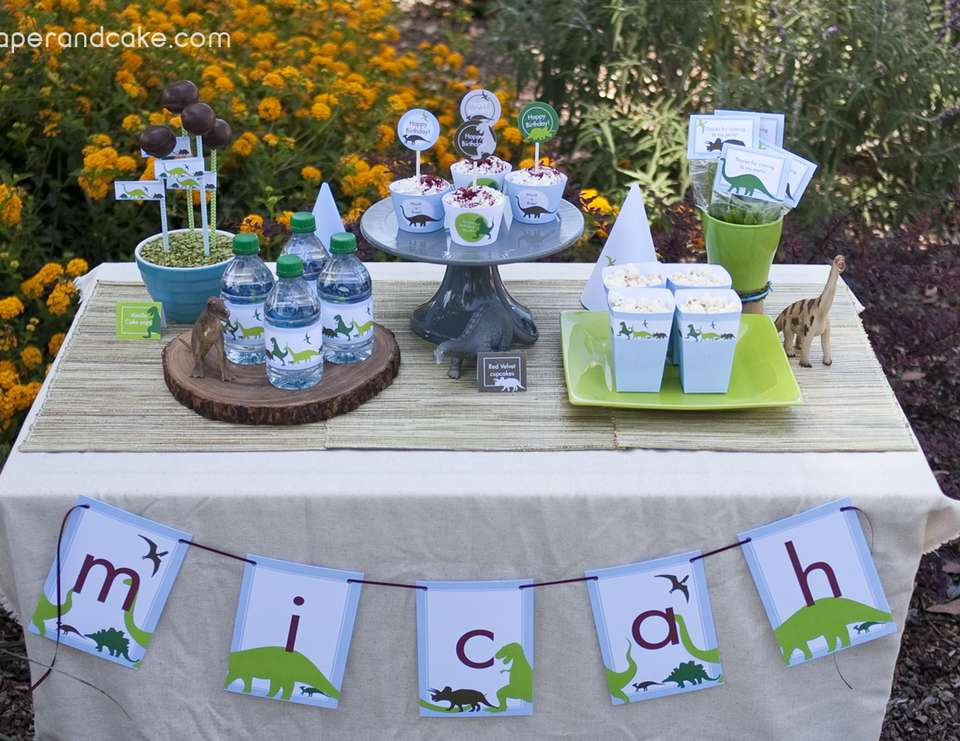 Dinosaur Dig Printable Party - Dinosaurs