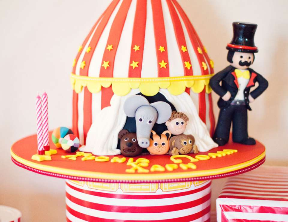 Harry's 2nd Circus Birthday Party - Circus
