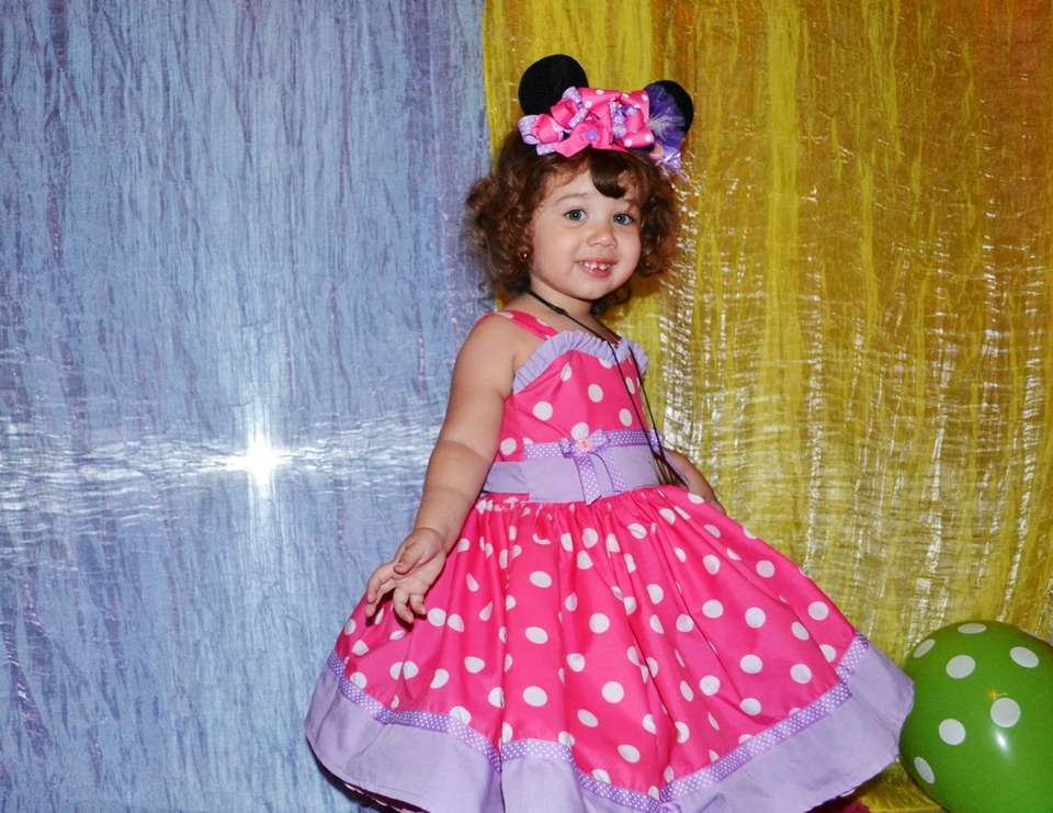 Fabiola Aimar 2nd Birthday - Minnie Mouse in candy land