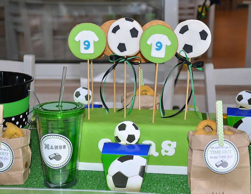 Soccer Birthday Party - Soccer Party /Football