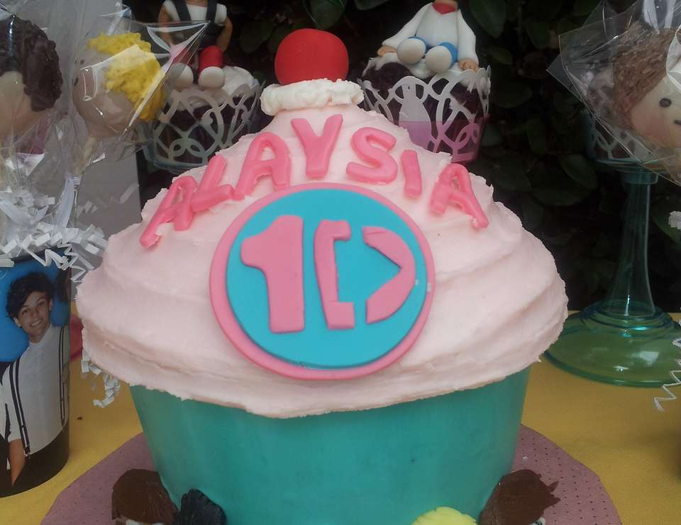 One Direction CupCake Party - One Direction Cup Cake Party