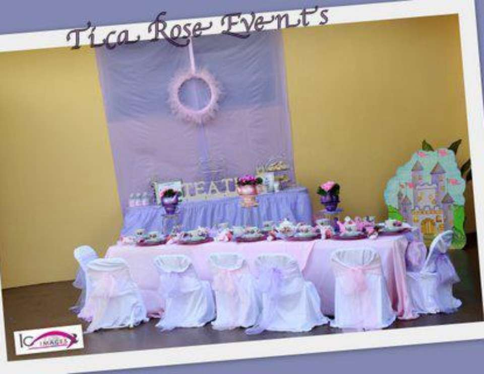 5th Birthday Party  - Princess Tea Party