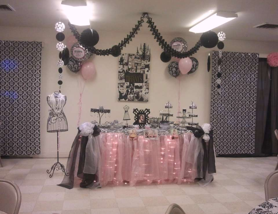 Breakfast at tiffany 39 s birthday 60th birthday party for 60 birthday decoration party