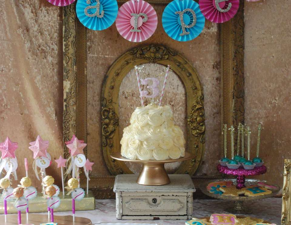 {All that Glitters is Gold} - Harper's Golden Birthday Party