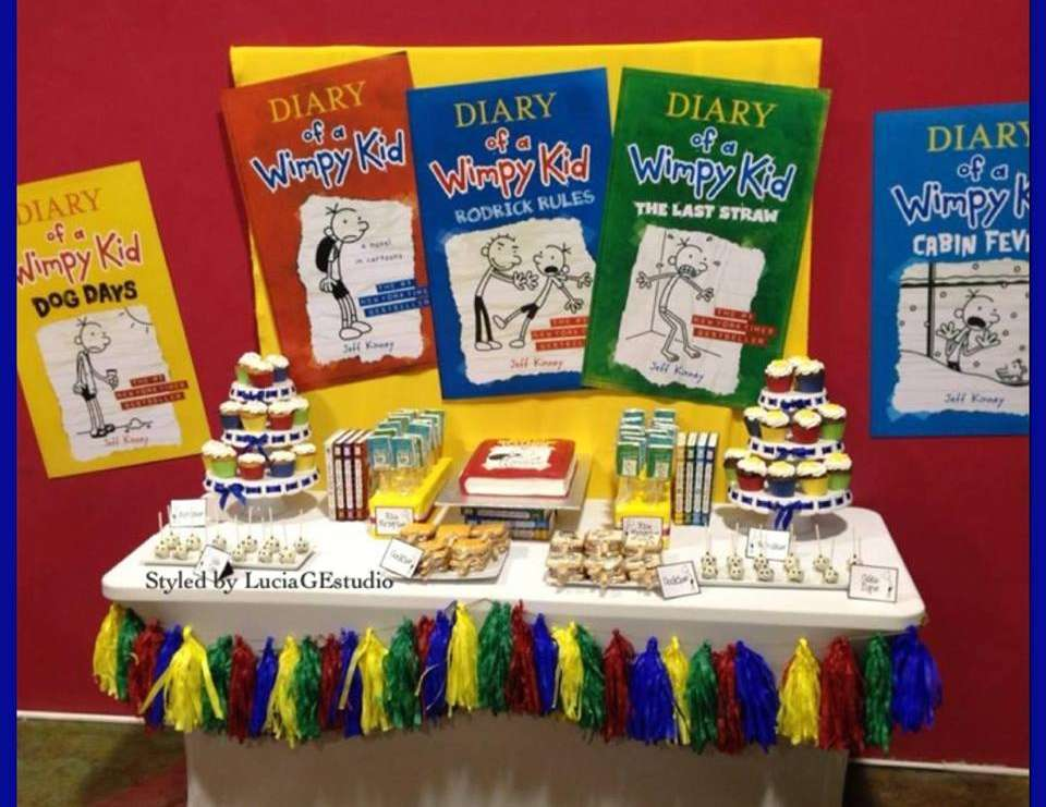 A Wimpy Kid Birthday Party - Diary of a Wimpy Kid