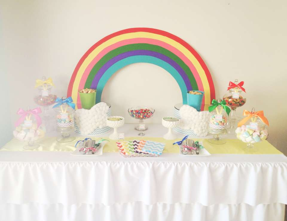 Chevron Rainbow Party - Rainbow