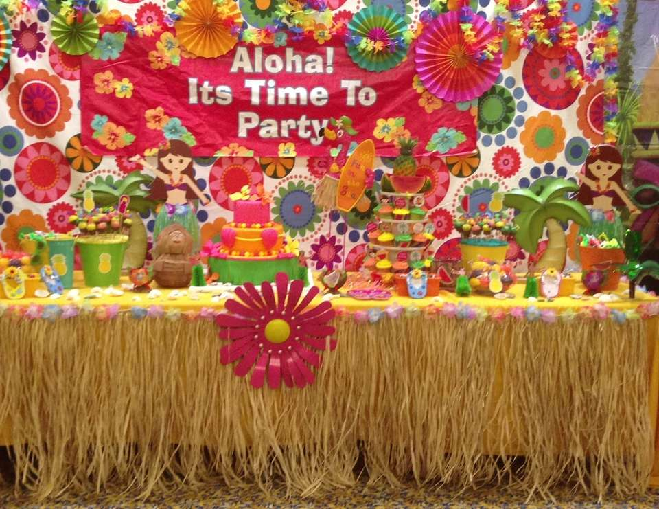 Aloha party - Hawaiian Luau