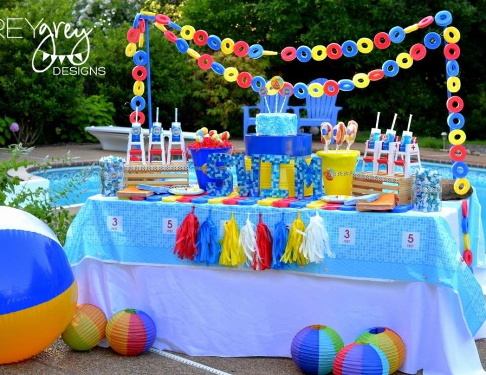 Summer Pool Party with Birthday Express - Summer Pool Party