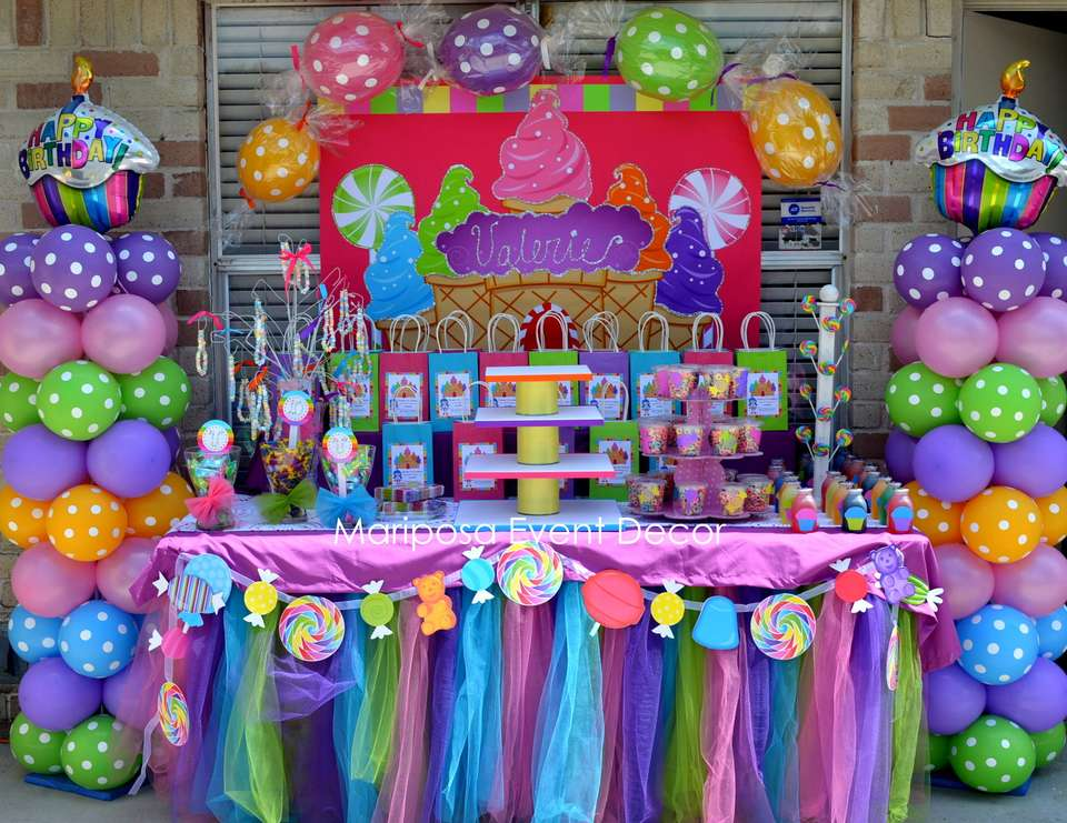 Valerie's Candy Land  - Candy Land