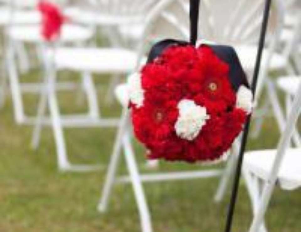 Hauge Wedding - Red, Black, and White