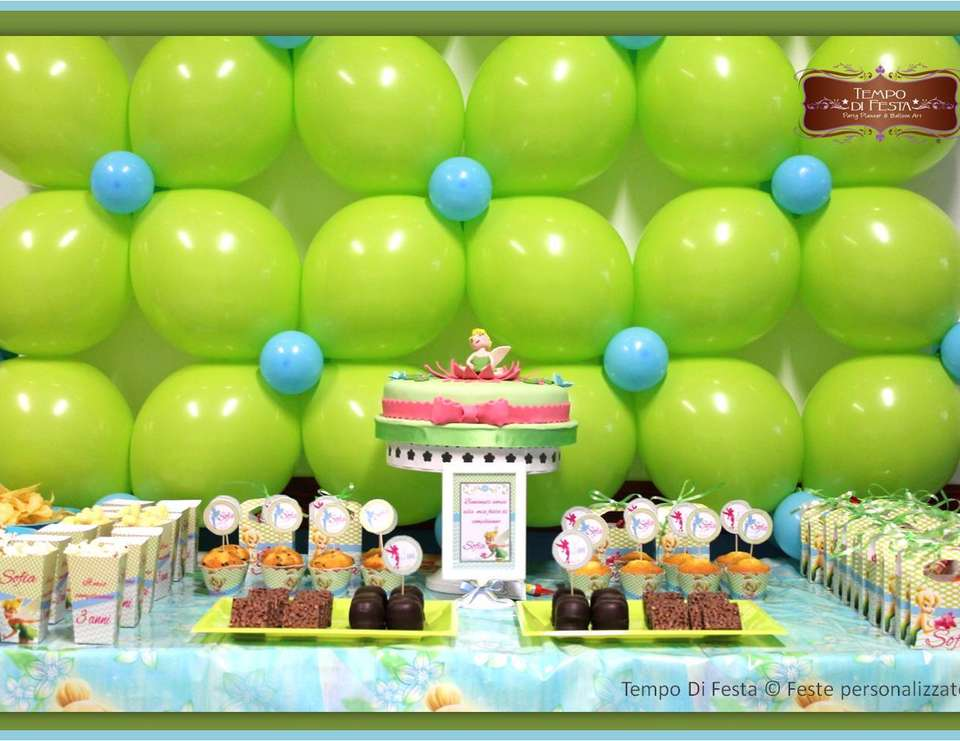 Sofia's Tinkerbell party - Tinkerbell party