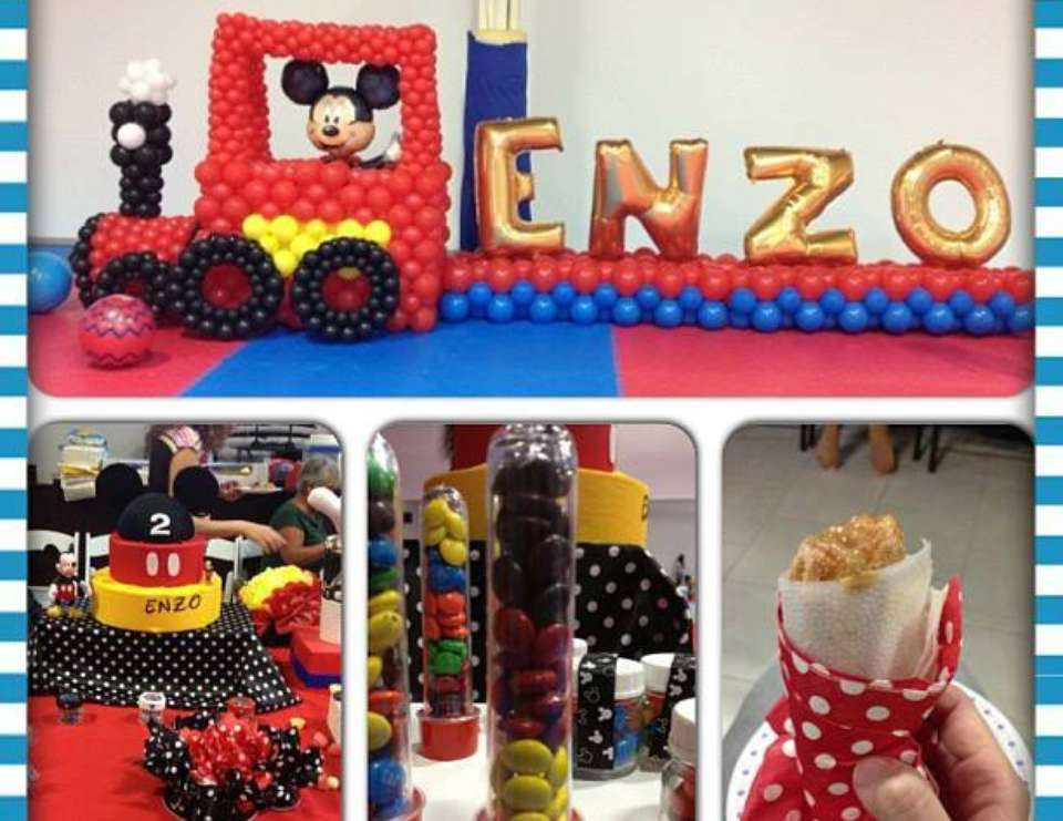 Enzo's 2nd Birthday - Mickey Mouse