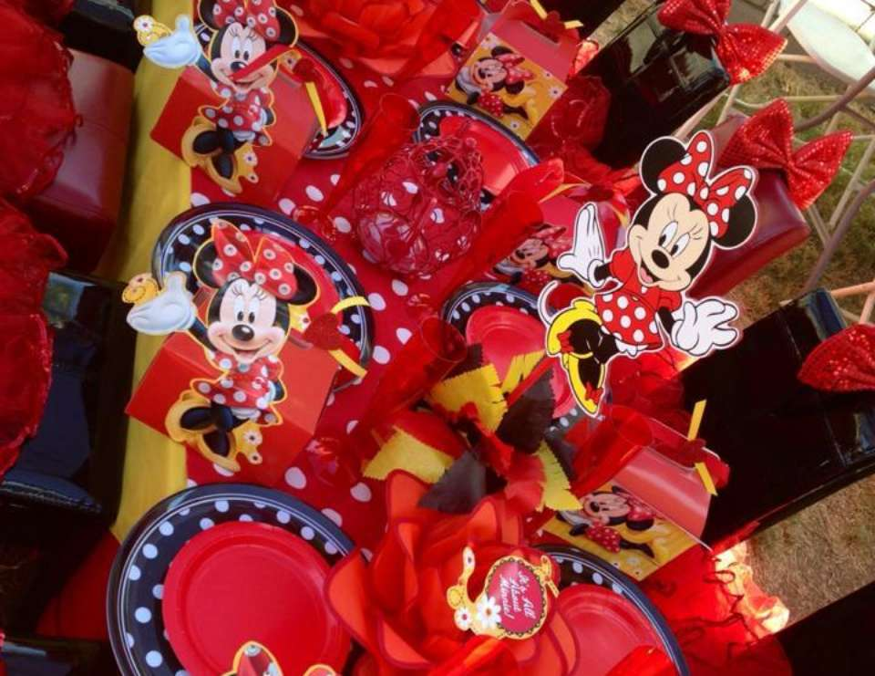 MINNIE~RED - Minnie Mouse RED