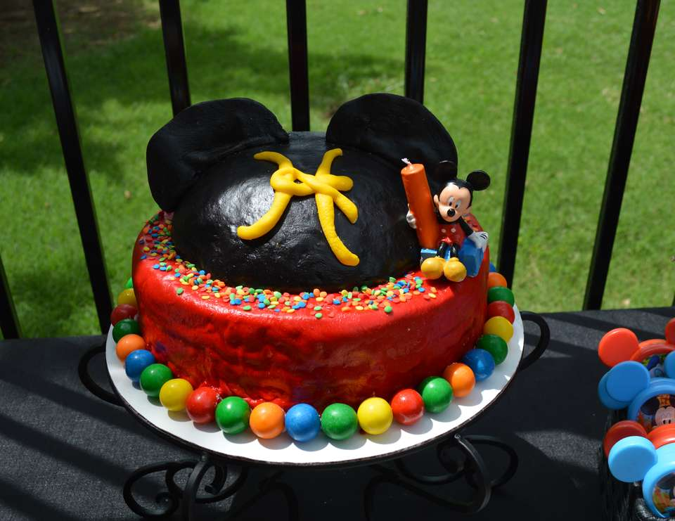 Hayden's 1st Birthday Party - Mickey Mouse Clubhouse