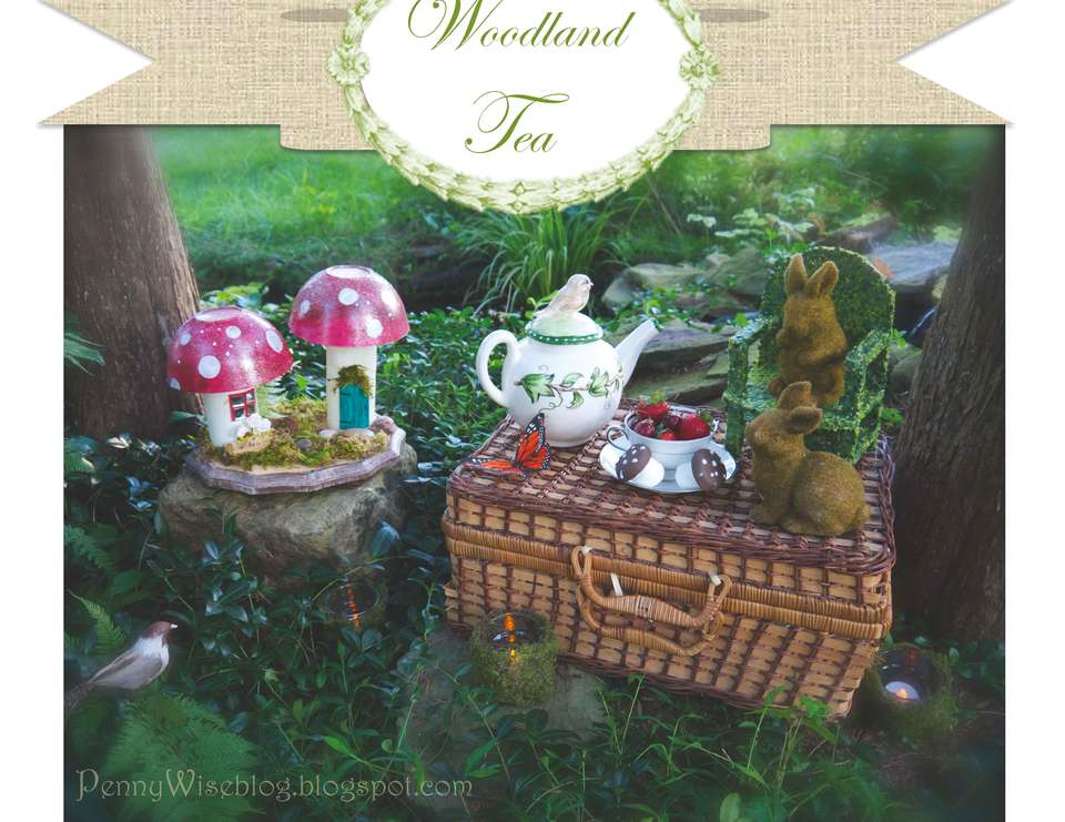 Woodland Tea Party - None
