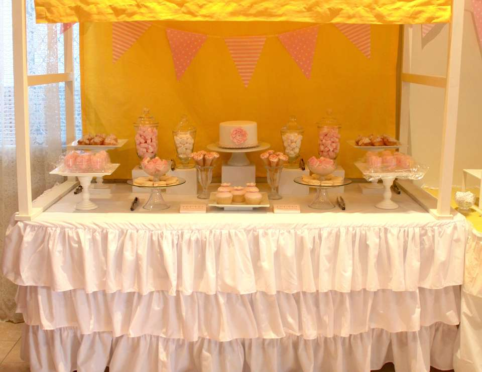30th Birthday Party - Pink and Yellow