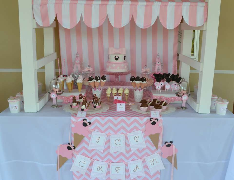 {Minnie's Ice Cream Shop} - Minnie Mouse / Ice Cream