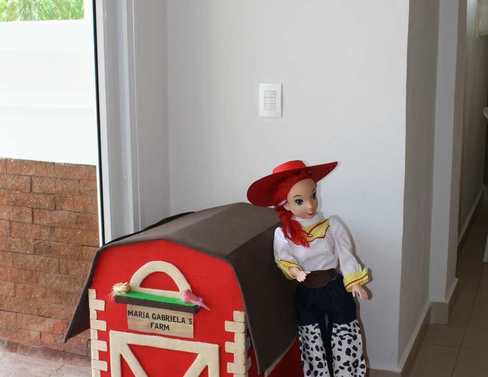Cowgirl party for Maria Gabriela - Cowboy/Cowgirl, Toy Story, Woody and Jessie