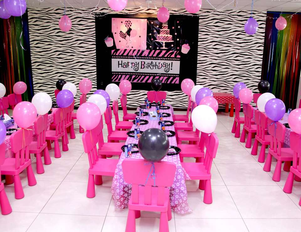Aleyna's Barbie Rockstar Birthday - Barbie Rockstar