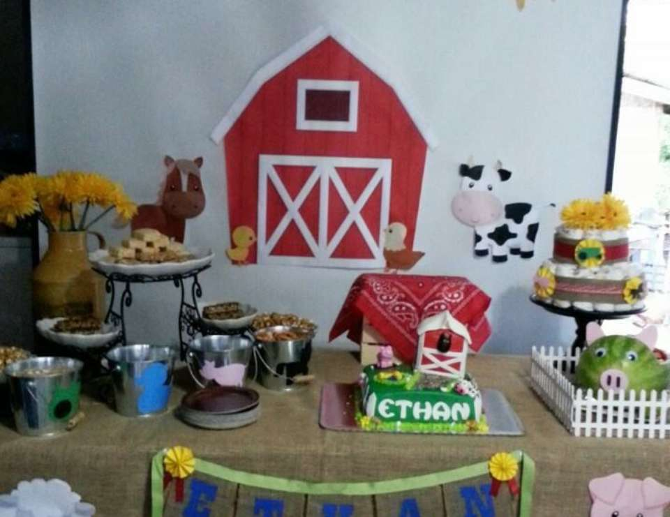 Farm Baby Shower  - Farm Theme