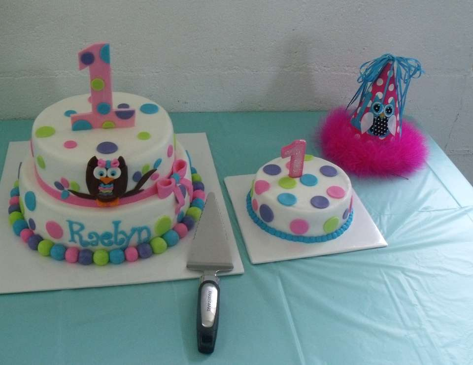 Owl Theme Birthday Raelyn Maes 1st birthday Catch My Party